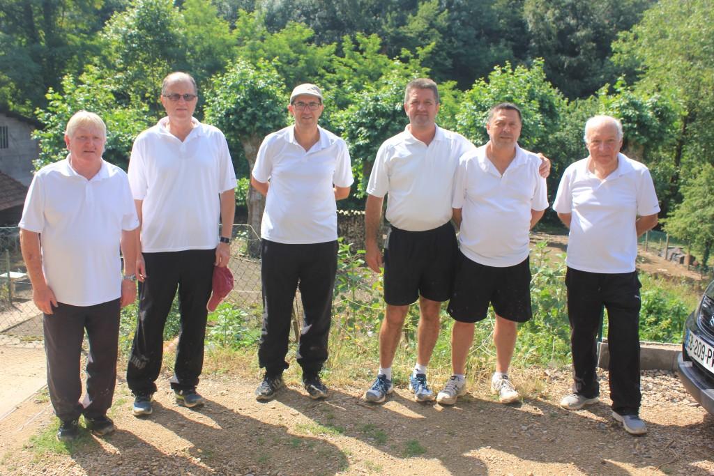 Equipe FOURNIER - Championnats de France Quadrettes 2016
